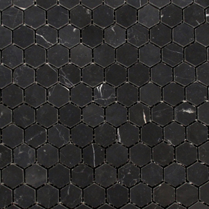 Nero Marquina Marble Mosaics Products Surface Gallery