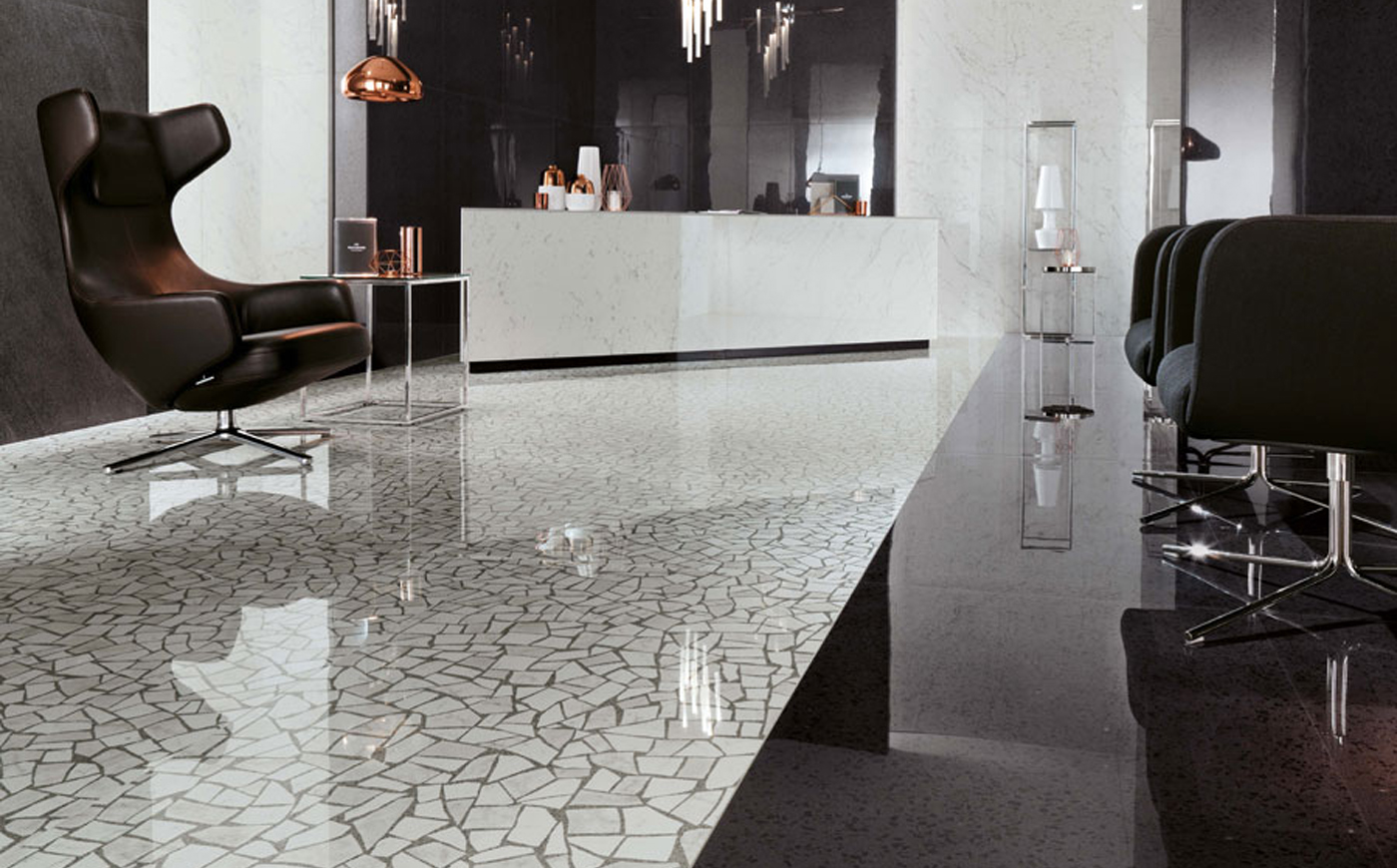 Central Terrazzo Look Porcelain Tiles Products