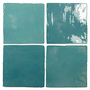 Oxford Turquoise 130x130mm